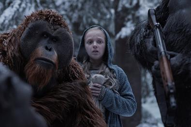 Fagernes kino: War for the Planet of the Apes
